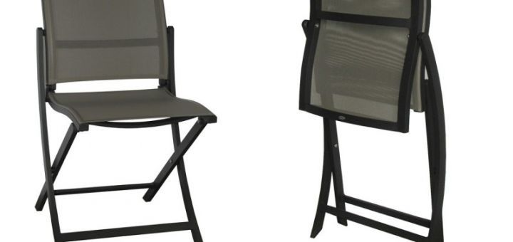 La chaise pliante moderne associe design et praticité