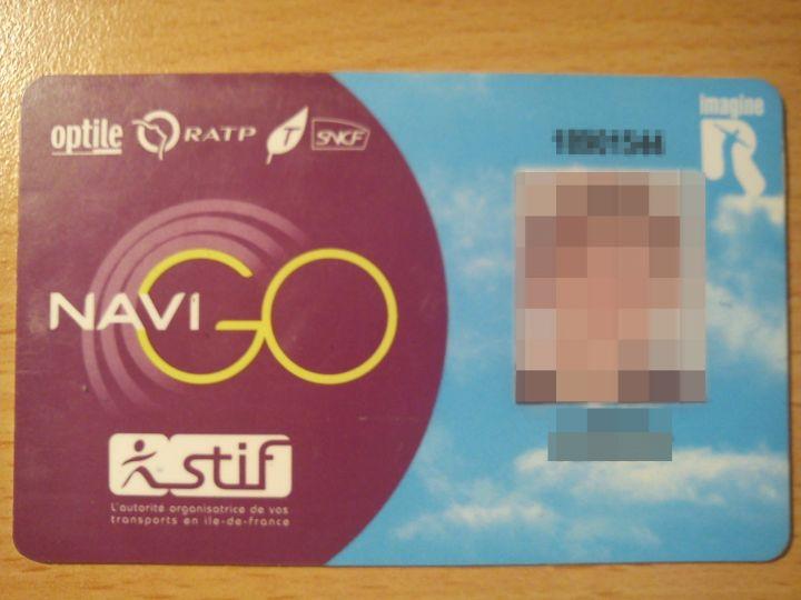 Le pass Navigo, dézoné à compter du 1er septembre