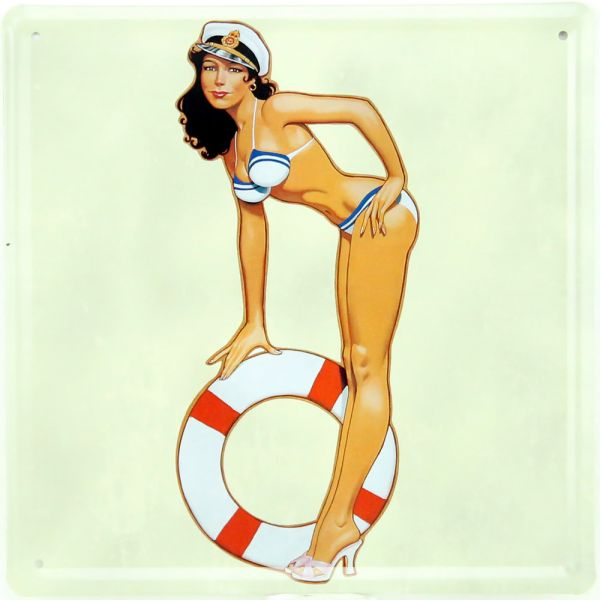 Plaque Pin Up