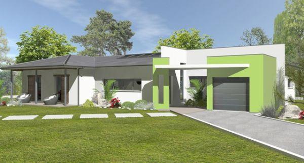 Modèle Modèle Gaïa Organic,maison moderne