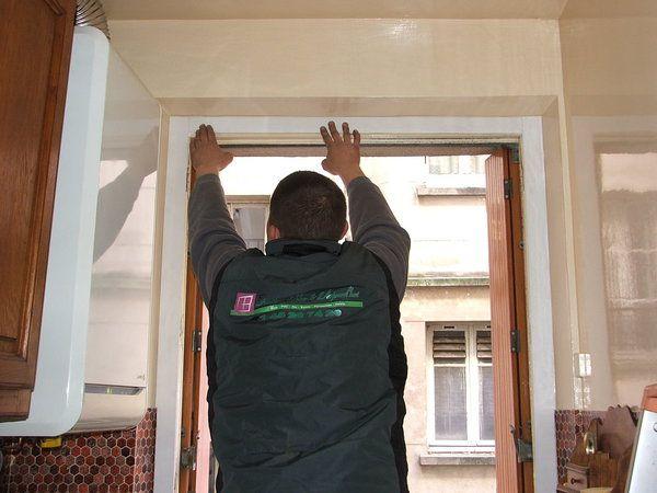 pose de fenêtre en rénovation
