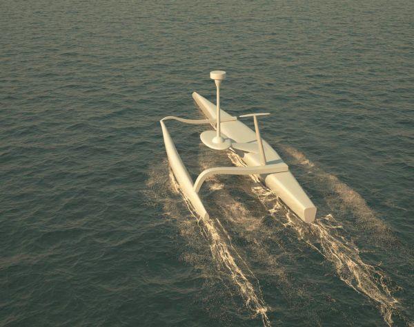 Le Sphyrna, premier drone marin français