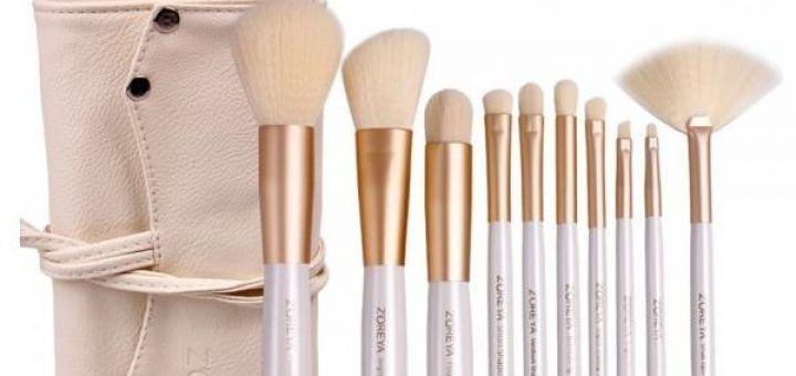 Pinceaux de maquillage : choisir des poils naturels ou synthétiques ?