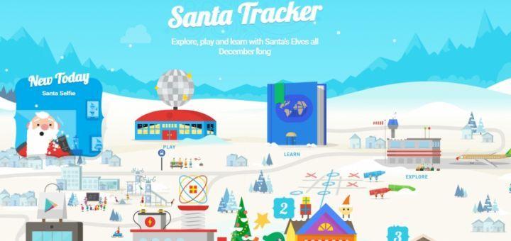 Santa Tracker, quête de cadeaux à la Pokémon Go avec Google !