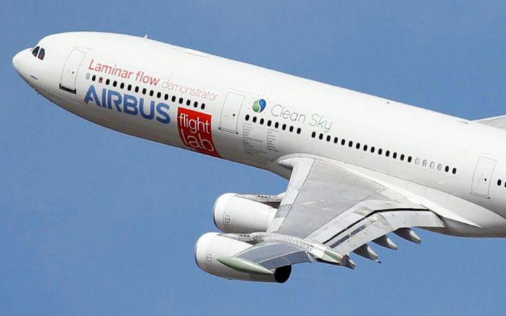Premier vol réussi d'un Airbus à ailes expérimentales