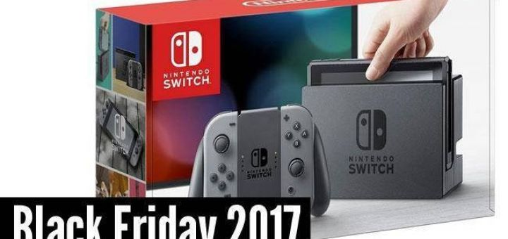Nitendo Switch, le produit le plus vendu lors du Black Friday