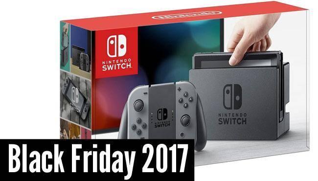 Nitendo Switch, le produit le plus vendu lors du Black Friday