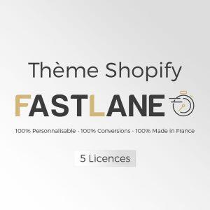 Pourquoi choisir le thème Fastlane Shopify ?