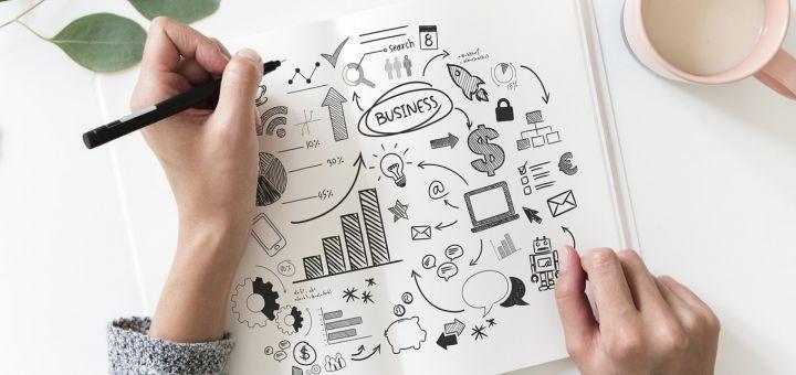 Une agence de marketing conseille les startups