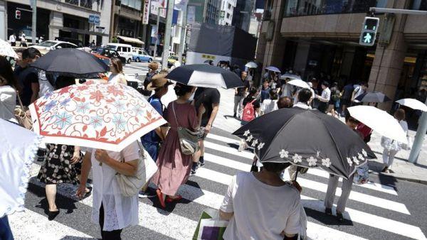 canicule au japon