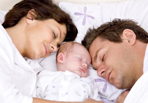 dormir avec bebe pour contre