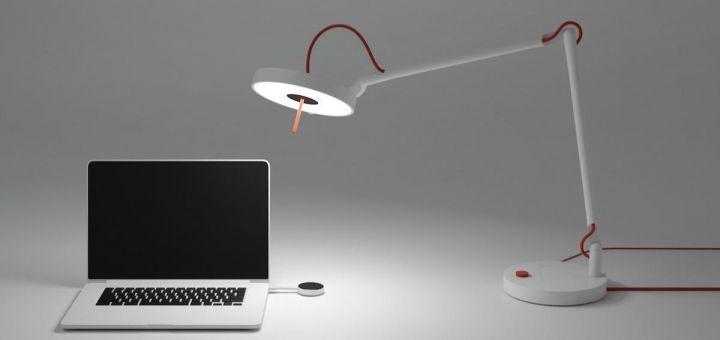 MyLifi, la lampe qui offre Internet par la lumière