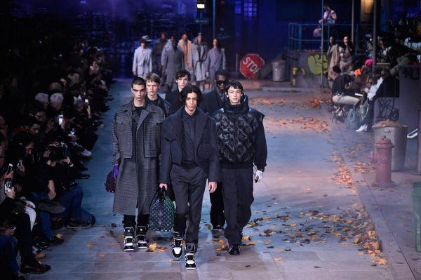 La dernière collection homme de Louis-Vuitton